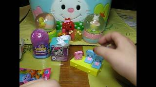 Disney Giftems Squinkies Shopkins Happy Places Trolls Blind Bags Autumns Toy Review Unboxing Music