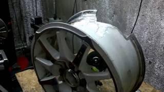 Смотреть видео ремонт литых дисков