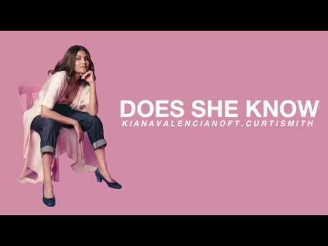 DOES SHE KNOW - Kiana Valenciano ft. Curtismith (LYRICS)