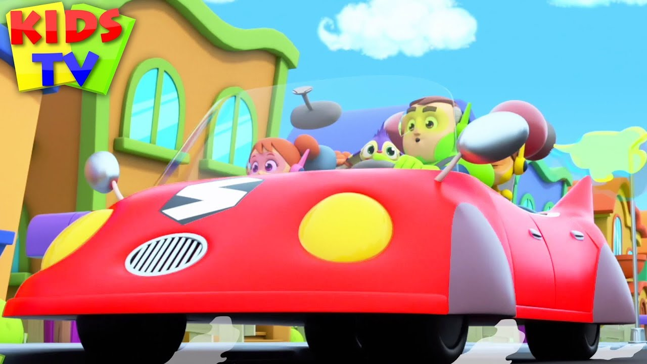 Daddys Car | The Supremes Cartoon | Kids Songs & Baby Rhymes