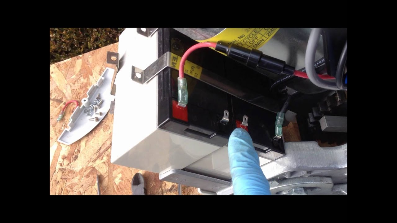 How to replace stairlifts batteries on Acorn Superglide