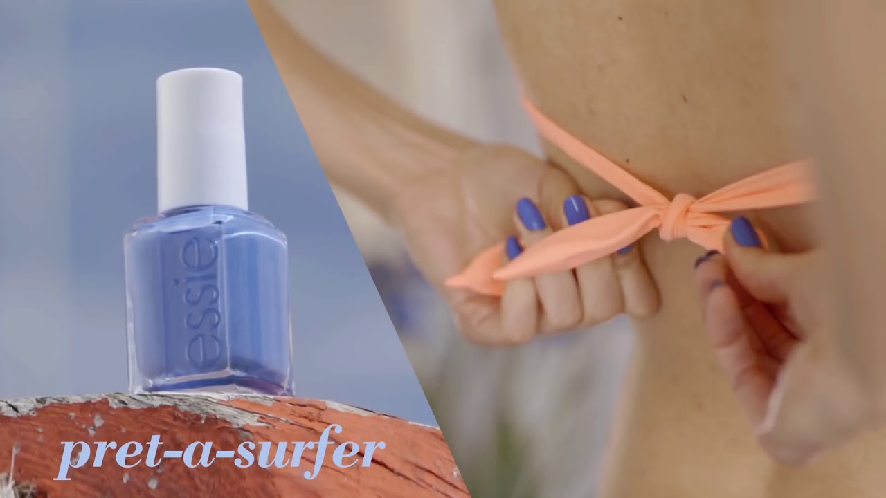 Summer Nail Colors – Essie Summer 2015 Collection - YouTube