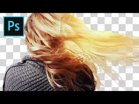 How To Cut Out Hair In Photoshop (Easy Background Removal)