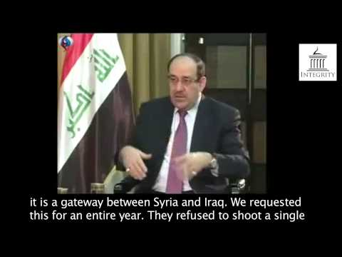 Al Maliki  The West 'remained bystanders' against Al Qaeda