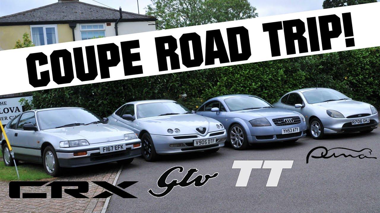 Retro Coupe Roadtrip! [Ft. Honda CRX   Alfa Romeo GTV   Audi TT   Ford Puma]