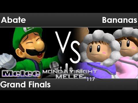 MNM 117 - BCG | Abate (Luigi) vs Bananas (ICs) Grand Finals - Melee