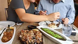 收了园子里的菜  进城 一家人吃菲律宾菜 购物  樵叔掏钱乐颠颠【Garden Time 田园生活分享】