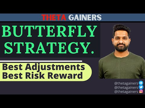 The Butterfly : Best Option Strategy, Low Risk High Reward || Best Adjustments