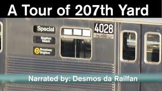 HUH? NYC Subway: A WEIRD Tour of 207th Street Yard