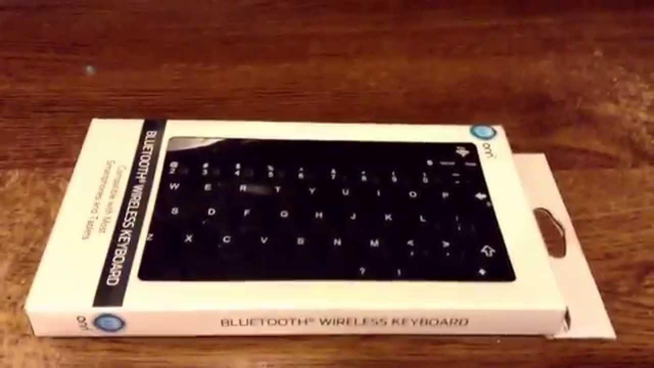 Onn Bluetooth Keyboard Unboxing