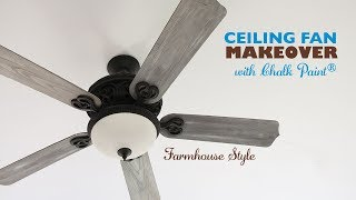 DIY Ceiling Fan Makeover with Chalk Paint®