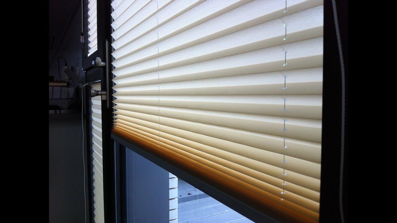 Como instalar cortinas plisadas youtube - Cortinas tipo persianas ...