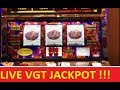 VGT RUBY RED 2 JACKPOT CAUGHT LIVE! !!! HUGE WIN !!! SLOT & POKIES!!!