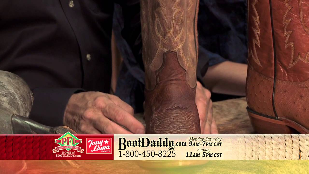9ddabf6c7c9 Review of BootDaddy by Tony Lama Men's Smooth Ostrich Antique Saddle Brown  Cowboy Boots O3614