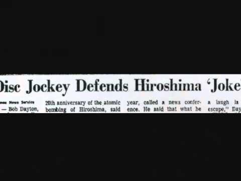 """Hiroshima """"Birthday"""" Gaffe: Bob Dayton, WABC - 1965"""