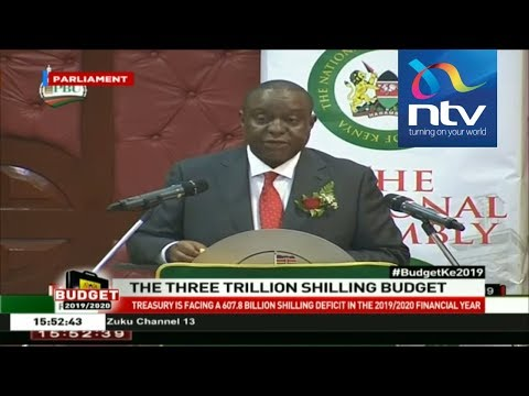 Treasury CS Rotich&39;s Budget 201920 estimates   SPEECH