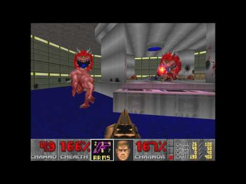 Doom 2 Dimensions of Time Level 1 UV Max with Extreme Weapon Pack (Commentary)