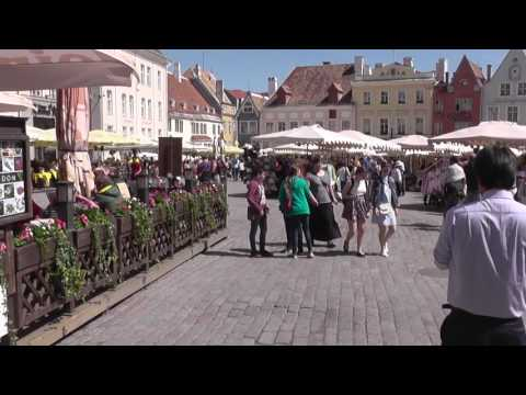 Walking the streets of Tallinn. Summer 2017