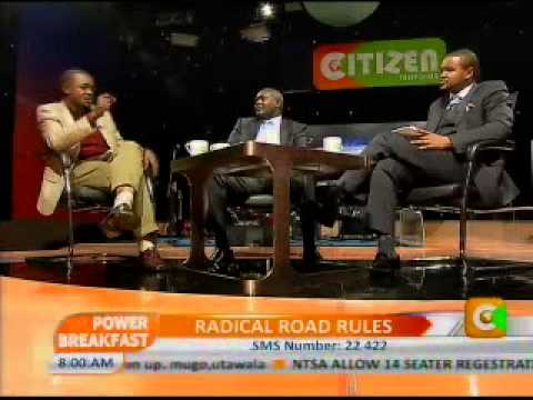 Power Breakfast  Interview with Francis Meja-Director General,NTSA Prt 3