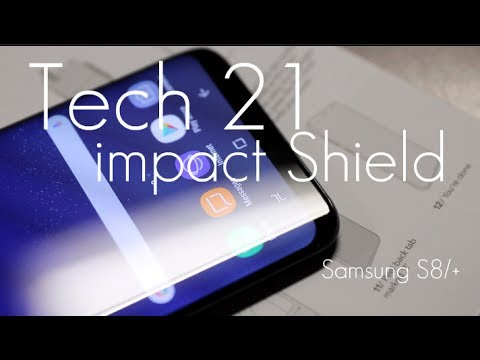 huge discount 90ee8 d55a0 Best Screen Protector Film for Edge Protection? - Tech21 Impact Shield  Samsung S8 / S8+