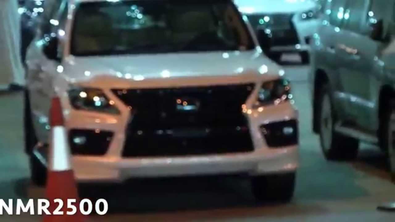 اسعار لكزس سوبر شارج نزل السعر الي ٦٥٠الف الجزء الثاني Lexus Lx 570 Sport Supercharged 2014 Youtube