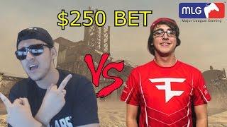 FaZe Rain Vs MLG PRO - $250 Bet