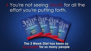 The 3 Week Diet Book For Rapid Weight Loss