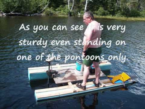 Portable fishing boat for atv youtube for Portable fishing boat