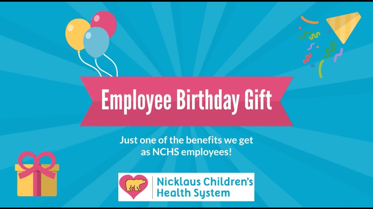 New Employee Birthday Gift 2018
