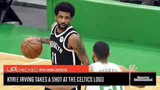 Kyrie Irving Took His Shot From The Logo