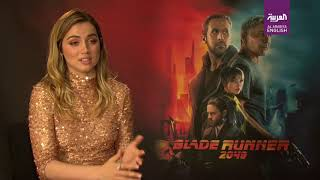 Blade Runner 2049's Ana de Armas talks Harrison Ford, Jared Leto and Ryan Gosling