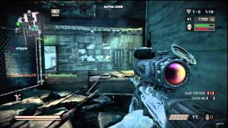 Killzone 3 Alpha gameplay of AWESOMENESS PART 1 with 51 kills(OLD/CLOSED BETA)