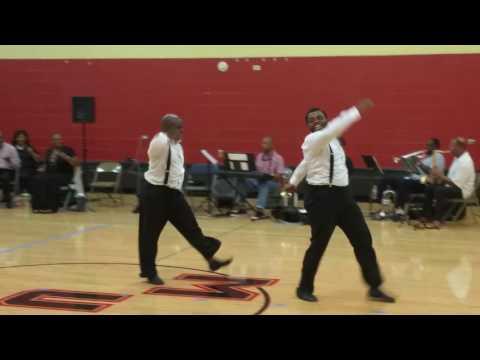 Jay & Matt dancing darkies