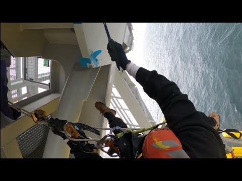 Offshore Rope Access Substation Repair Works HD