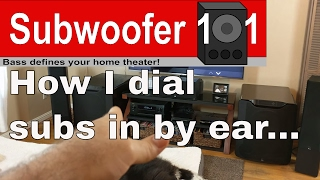 Subwoofer Gain & How I Dial In Subwoofers By Ear Using Music (And The Playlist I Use Every Time)