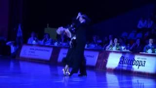 Дмитрий Жарков и Ольга Куликова, медлен. фокстрот