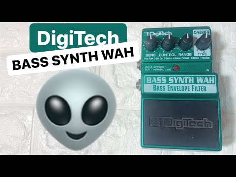 👽DigiTech 👽BASS SYNTH WAH Pedal Tested On BASS