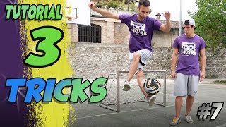 IMPARA 3 TRICKS FREESTYLE CALCIO PER STUPIRE! Crossover , X-Over e Reverse Cross TUTORIAL #7