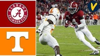 Tennessee vs 1 Alabama Highlights  Week 8  College Football Highlights