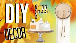 Diy Fall Room Decor! Easy & Cheap Room Decorations!