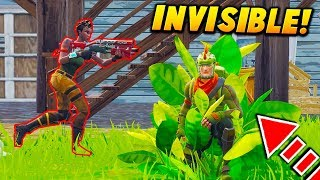 INVISIBLE CAMOUFLAGE SKIN TROLL! - Fortnite BATTLE ROYALE TROLLING (NOOB PROOF!)