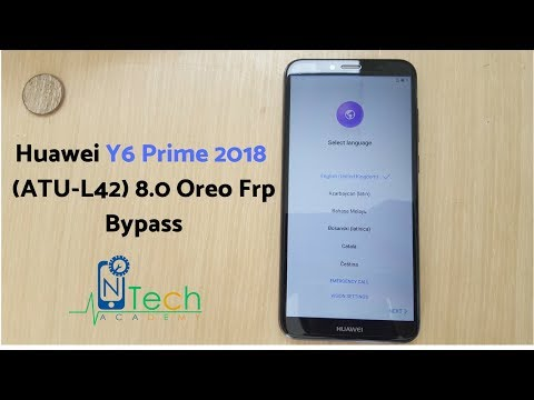 Frp Bypass Huawei Y6 Prime 2018 (ATU-L42) 8.0 Oreo