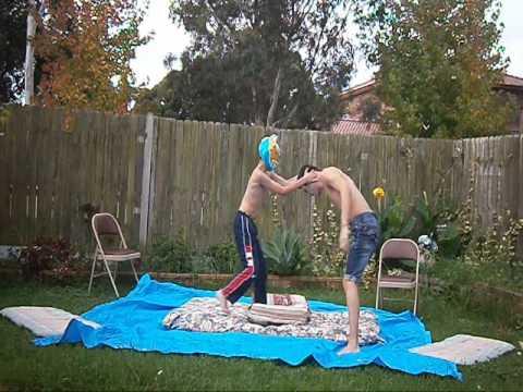 wwe john cena vs sin cara backyard wrestling youtube