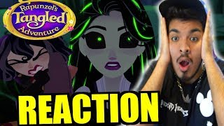 Rapunzel's Tangled Adventure: The Great Tree Reaction