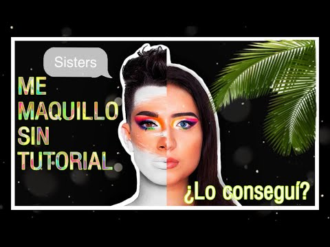 Maquillaje SIN TUTORIAL ll Paleta de JAMES CHARLES ll @valentinnacharry thumbnail