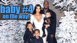 Kim Kardashian And Kanye West To Welcome Baby #4 In May!