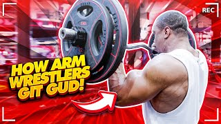 WEIGHT TRAINING FOR ARM WRESTLERS