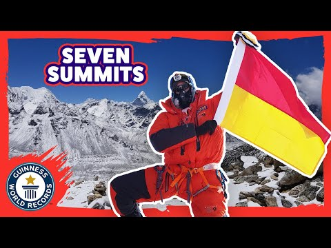 Steven Plain: Fastest time to climb the Seven Summits - Meet the Record Breakers