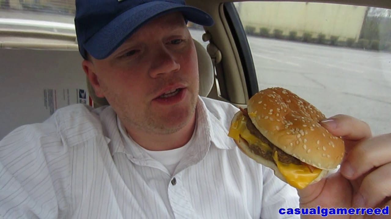 Reed Reviews Burger King Bacon Double Cheeseburger