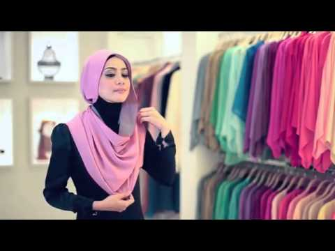 Macy shawl styling tutorial by al-humaira contemporary youtube.